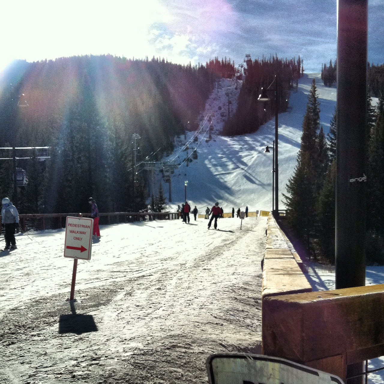 Snowboard day number one in Keystone,CO